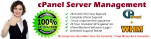 cPANEL SERVER ADMINISTRATION, MANAGEMENT, CPANEL SUPPORT