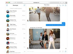 Facebook Messenger Web Version